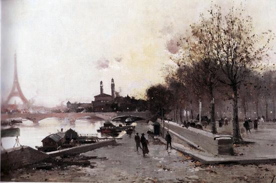 Galien-Laloue - la Tour Eiffel