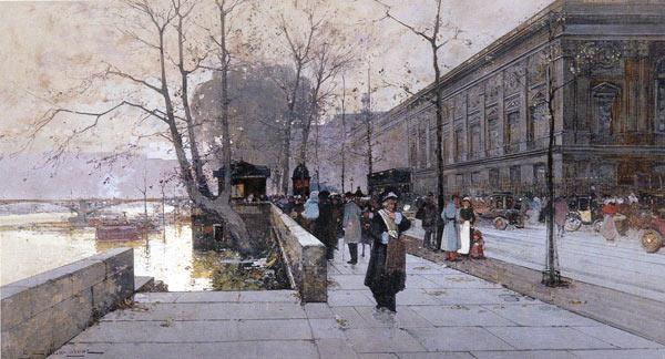 Galien-Laloue oeuvres - le Louvre