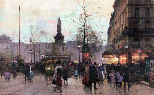Galien-Laloue Paintings La République